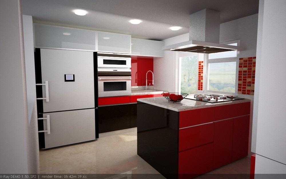 Cocinas Integrales Sobre Diseño Pida Su Cotizacion!! - $ 150.00 en ...