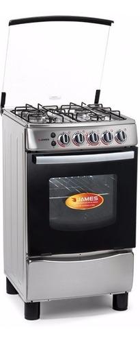 cocinas james supergas 655mi toda inox grill electrico
