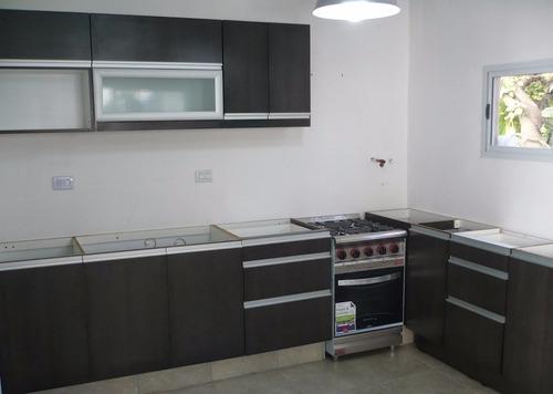 Cocinas modernas con tirador de perfil de aluminio bs - Perfiles de aluminio para muebles ...