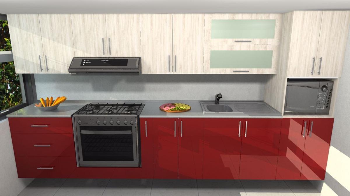 Cocinas 6 metros cuadrados simple cocinas santos for Cocina 6 metros cuadrados