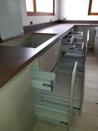 cocinas modulares, closet, baños entre otros.