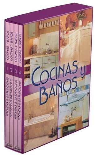 cocinas y baños 4 vols ediciones daly