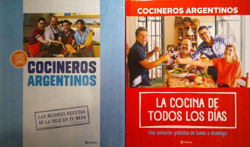 cocineros argentinos 1 y 2 tapa dura planeta