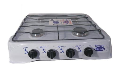 cocineta a gas 4 quemadores hornillas umco ferrara factura