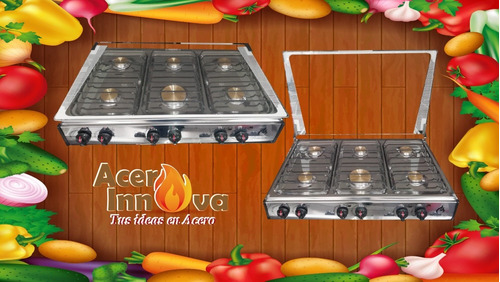 cocineta de 6 hornillas