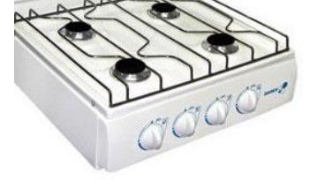 cocineta durex 4 hornillas a gas  incluido iva  *nuevas*
