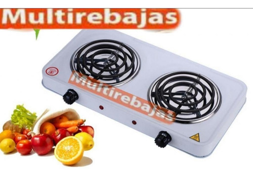 cocineta electrica doble hornilla potente portatil