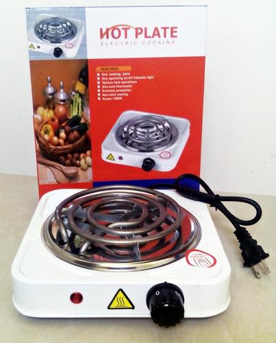 cocineta eléctrica portátil de una hornilla, potente y práct
