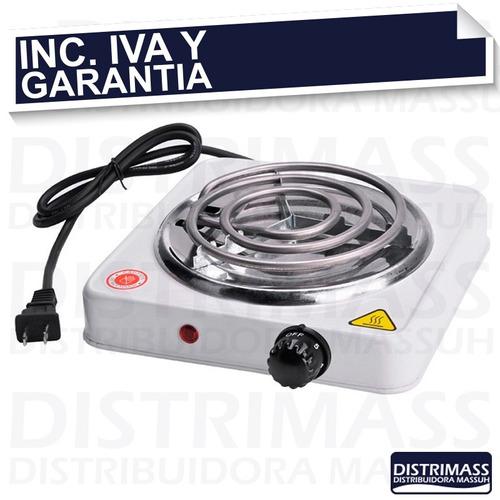 cocineta electrica una hornilla potente inc iva y garantia