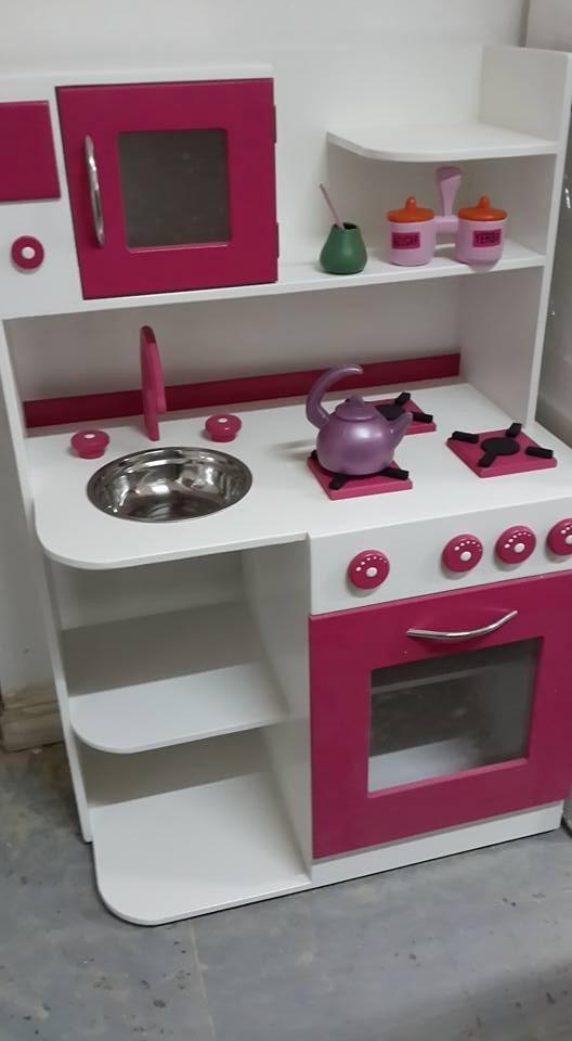 Superb Cocinita De Madera Cocina Infantil Fabrica Casita Juguete. Cargando Zoom.