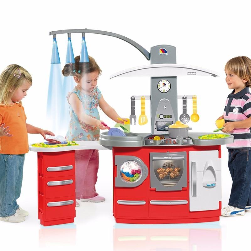 Cocinita electronica cocina para casita de ni as 3 399 for Cocina de juguete step 2