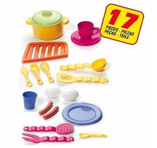 cocinita electrónica juguete para niñas molto con accesorios