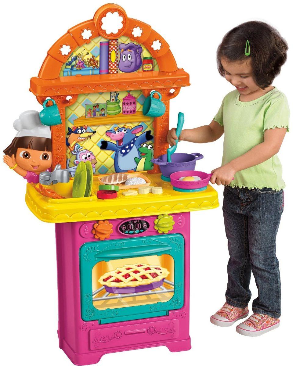 Cocinita infantil dora exploradora cocina fisher price hm4 2 en mercado libre - Dora la exploradora cocina ...