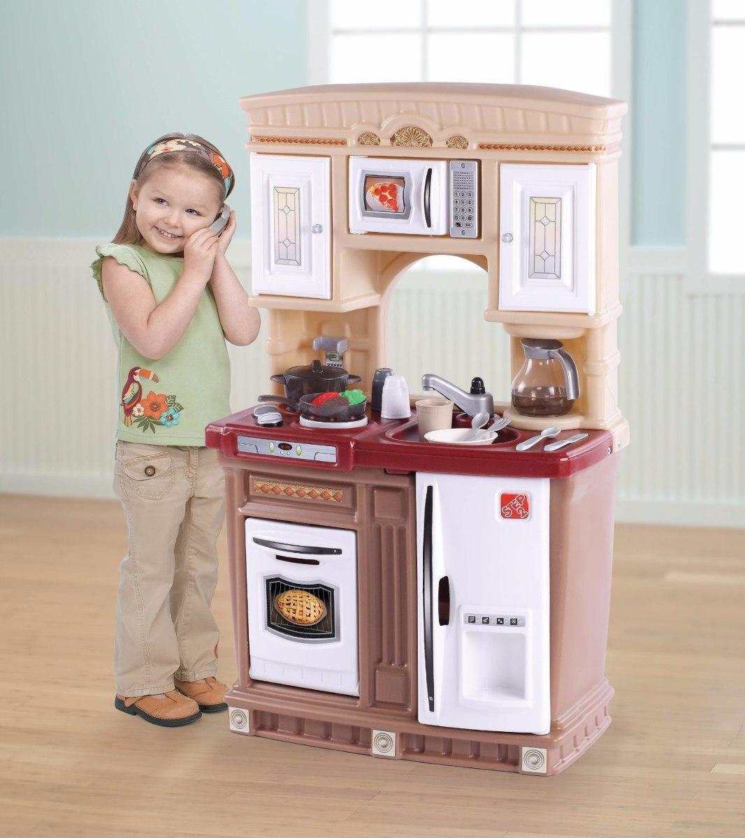 Cocinita step2 lifestyle fresh ni os juguete cocina hm0 for Cocina ninos juguete