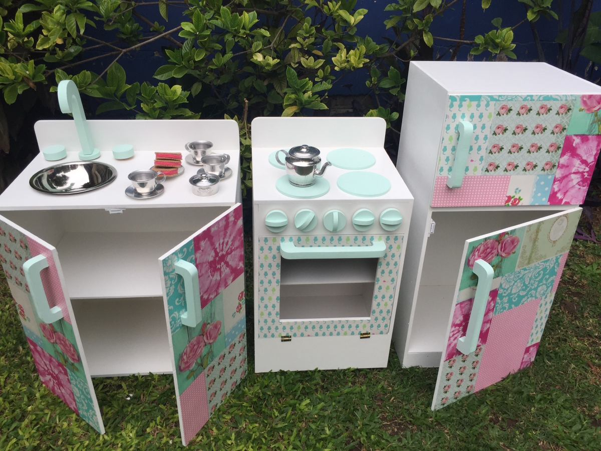 De Juguete Comiditas Cocinitas Infantiles 300 00 Diseño7 Madera 4L53jAR