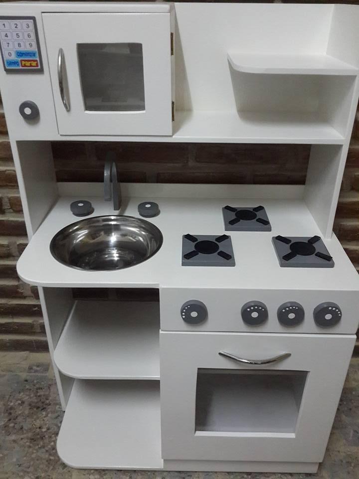Cocinitas En Cocina Casita Madera De Juguete Infantiles IWH29DE