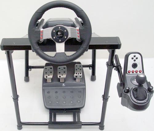 cockpit águia v3,suporte simulador, fixa 100% todos volantes