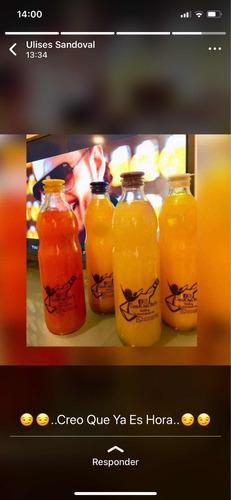 cockteles en botellas variedad de sabores