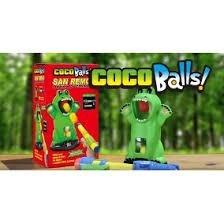 coco balls juego emboque lanzador y 10 pelotas tv educando