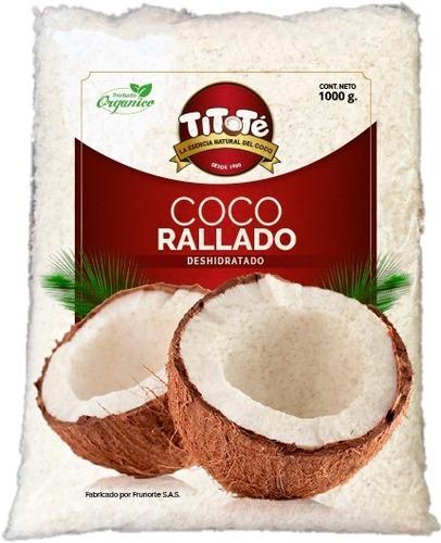coco deshidratado natural x 1kg - kg a $12000