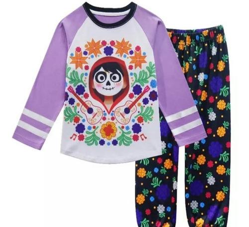 coco disney pijama talla 4 y 6