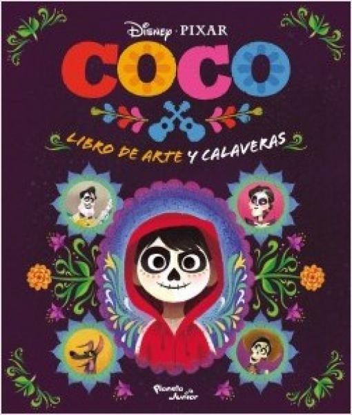 Coco Libro De Arte Y Calaveras - Disney-pixar - $ 275,00 en Mercado ...