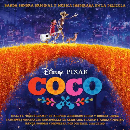 coco original soundtrack & music inspired by cd x 2 nuevo
