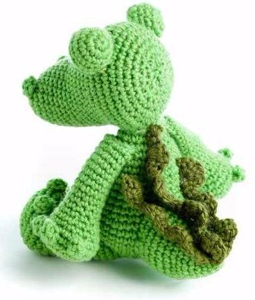 cocodrilo amigurumi crochet - tienda online nariz de azúcar