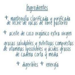 cocogui - mantequilla clarificada y purificada + aceite coco