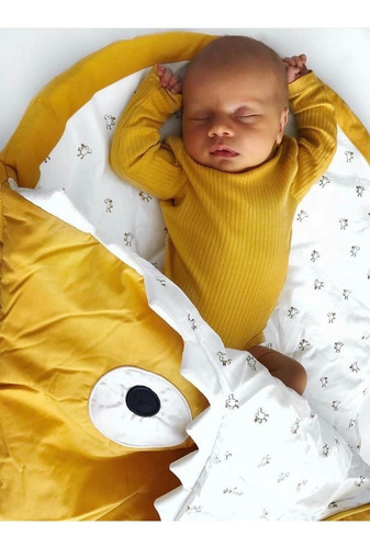 cocomuá sleeping bag tiburon amarillo