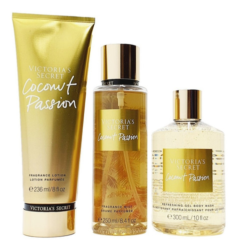 coconut passion victoria's secret kit de regalo