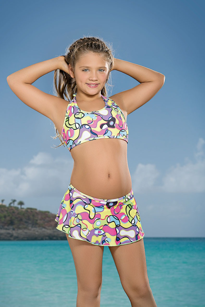 Cocot 12583 Bikini Nena Con Pollerita -  490,00 En -7447