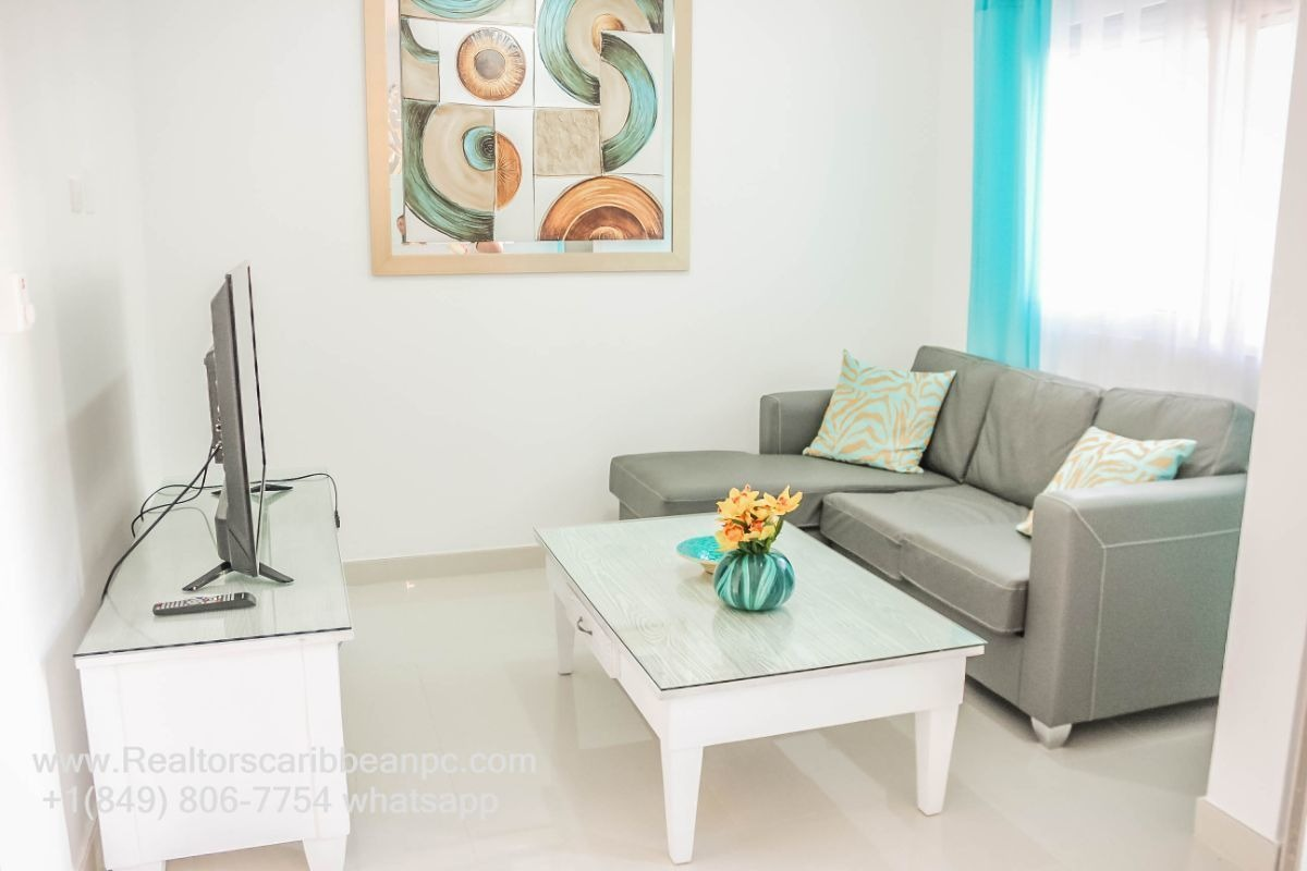 cocotal punta cana new- bavaro for rent  apartment  2 bedrooms garden view