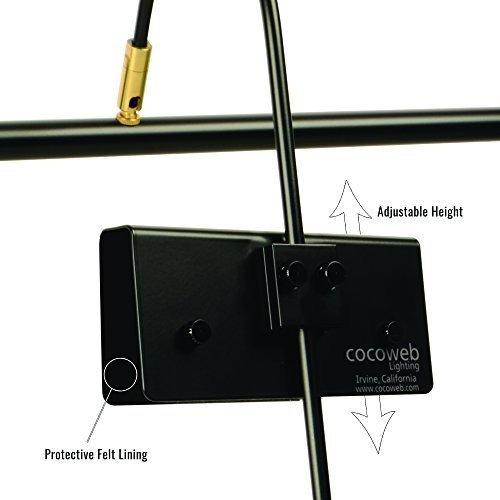 cocoweb led lampara de piano gpled19mbd
