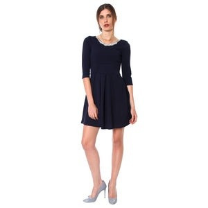 coctel corto vestido