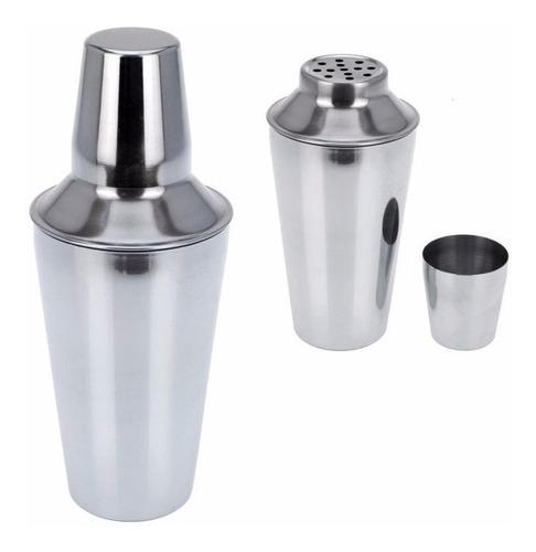 coctelera con filtro 700ml de acero inoxidable profesional