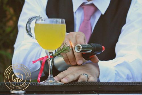 coctelería móvil para eventos - tragos barman barra