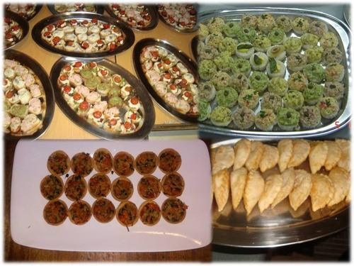cocteleria,canapes,empanaditas,pastelitos,etc