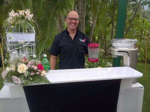 cocteles alquiler de barra movil bartender frozen