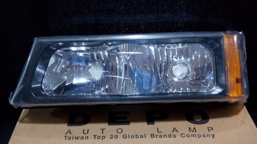 cocuyo chevrolet silverado  03 - 07 izquierdo depo