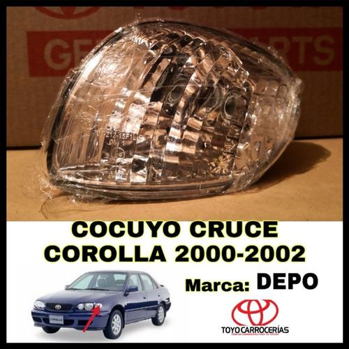 cocuyo mica cruce corolla 2000 2001 2002 depo