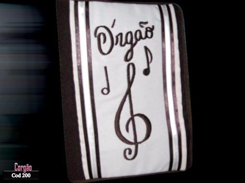 cod 200-01 capa para hinário 5 de organistas em tecido.