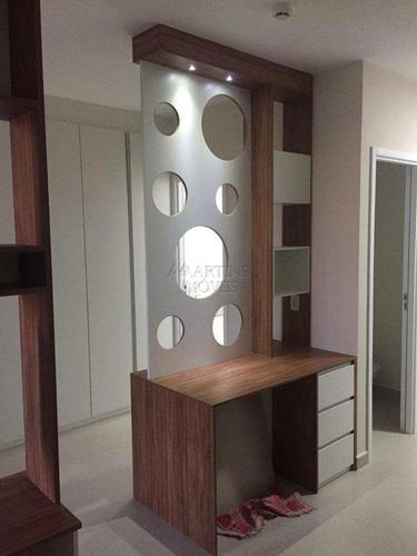 cod: f-6232| línea home style | flat andar alto 41 m² suíte - a6232
