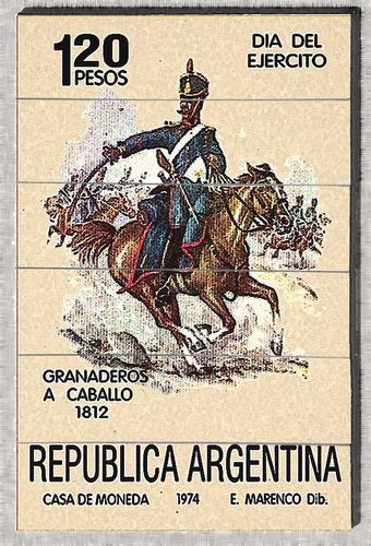 cod l759 cuadros militares granaderos a caballos 1812
