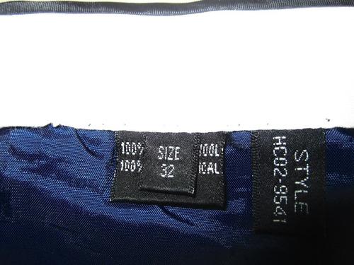 code pantalon azul de vestir