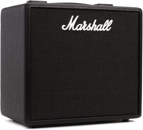 code25 marshall amplificador digital guitarra bluetooth