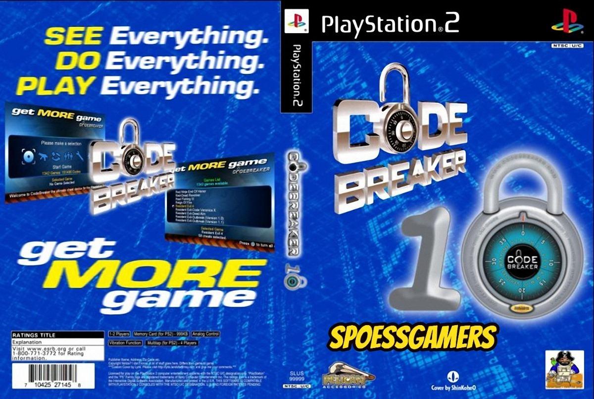 Codebreaker V10 Ps2 + Gameshark 2 V4 ( Codigo Cheats ) Patch