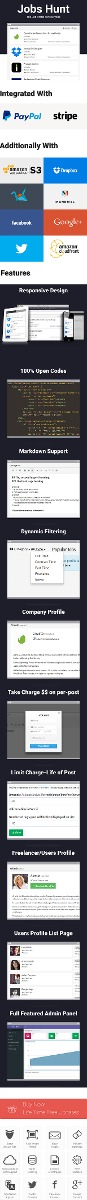Codecanyon - Jobs Hunt - The Job Portal