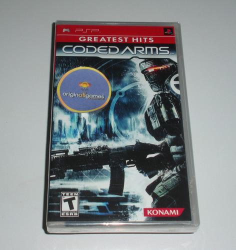 coded arms guerra | psp mídia física original usado