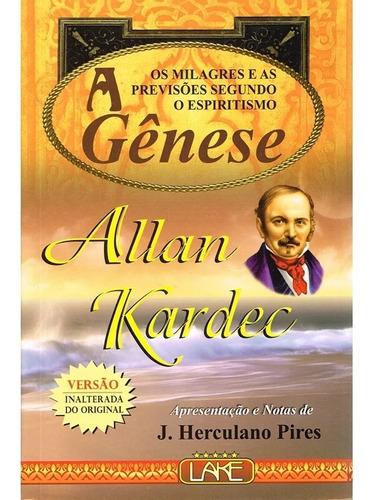 codificação espirita allan kardec - normal  ed lake 5 livros